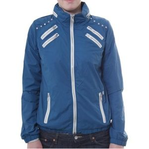 Obey Windbreaker Jacket With Hoodie